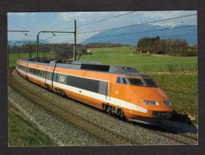 French Train Railroad PARIS LYON Line France Postcard Carte Postale