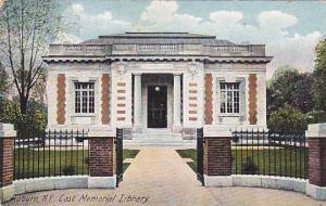 Case Memorial Library , Auburn , New York , PU-1907