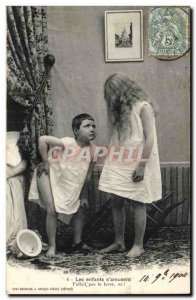 Old Postcard Fantasy Children s & # 39amusent