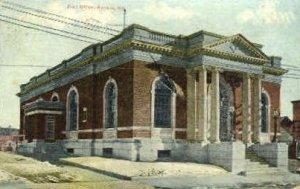 Post Office in Auburn, Maine