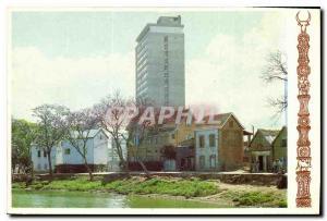 Postcard Modern and Traditional Houses Hilton Antananarivo Madagascar