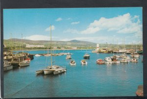 Isle of Man Postcard - The Harbour, Port St Mary     T7183