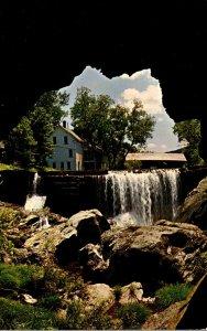 Vermont Warren The Natural Bridge Of Stone