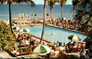 Florida Miami Beach Golden Gate Hotel Motel Cottages and Apartments Swimming ...