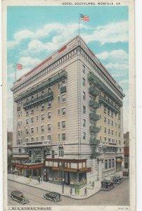 NORFOLK , Virginia , 1910s ; Hotel Southland