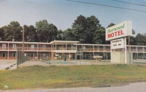 Swimming Pool, Sherwood Motel, HAVELOCK, North Carolina, 40-60's