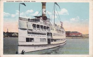 BOSTON , Massachusetts, 1900-10s ; Floating Hospital