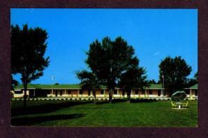 NC Shadow Lane Motor Court Motel RALEIGH NORTH CAROLINA