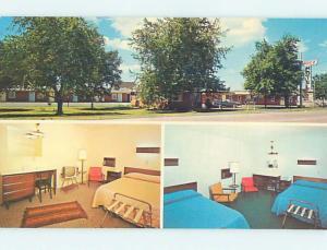 Unused Pre-1980 RITZ MOTEL Cheboygan Michigan MI n8633
