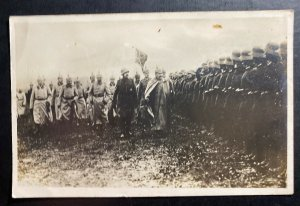 Mint Germany Real Picture Postcard RPPC Kaiser Wilhelm Troops Review