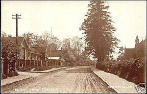 surrey, DORMANSLAND, Church and Schools (1920s) RPPC