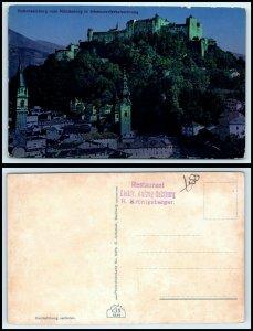 AUSTRIA Postcard - Hohensalzburg LOT #H1