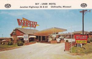 Exterior,  Sky-Liner Motel,  Junction Hwy 36 & 65,  Chilicothe,  Missouri,  4...