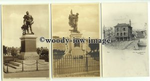 tp9408 - Devon - Three Cards of Various Locations, in Plymouth - Postcard