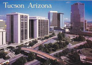 Aerial View Downtown Tucson Arizona