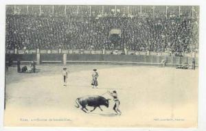 Madrid, Spain, Bull Fighter, 1890s  Num4´ - Suerte de banderillas