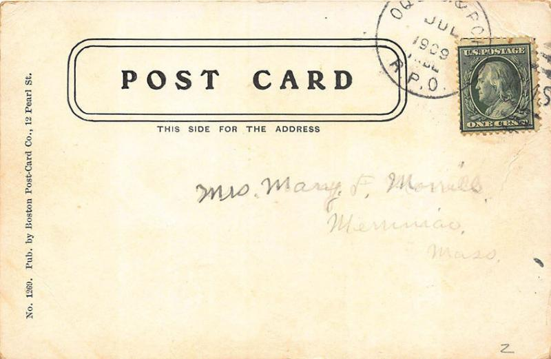 Elmwood ME R.F.D. Mail Delivery Wagon Oquossoc RPO MESSAGE RPPC (2) Postcards