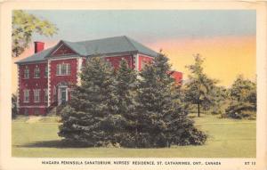 Ontario St. Catharines    Niagara Peninsula Sanatorium, Nurses' R...