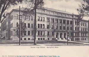 Exterior, Central High School, Springfield,  Massachusetts, PU-1905