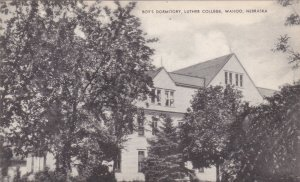 Nebraska Wahoo Boy's Dormitory Luther College Artvue sk2105