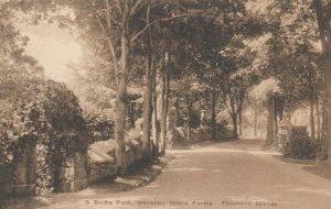 THOUSAND ISLANDS , Ontario , 1920-30s ; A Bridle Path Wellesley Island Farms
