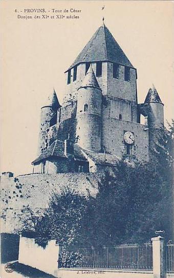 Tour De Cesar, Donjon Des XI Et XII Siecles, Provins (Seine et Marne), France...