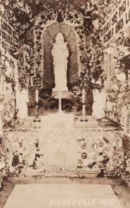 RP; DICKEYVILLE, Wisconsin, 10s-30s; Madonna Shrine