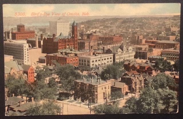 Bird's Eye View of Omaha, Neb. The Acmegraph Co. 5300