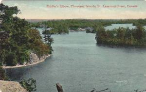 Fiddler´s Elbow, Thousand Islands, St. Lawrence River, Ontario, Canada, 1910...