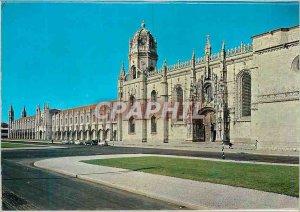 Postcard Modern Lisboa Mosteiro dos Jeronimos