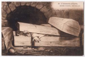 L'Inhumation precipitee, Musee Wiertz, Bruxelles