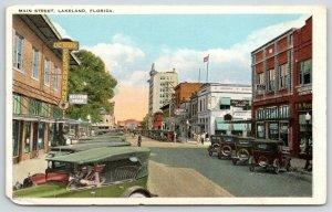 Lakeland FL~Main St~Deluxe Restaurant~Red Star Stoves~Woolworths~Realtors~1920s