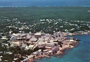 British West Indies - Grand Cayman, George Town Aerial View