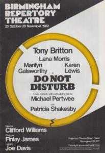 Michael Jon Bill Pertwee The Saint Do Not Disturb Comedy Theatre Programme