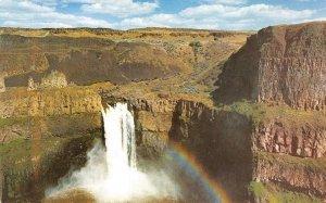 PALOUSE FALLS Rainbow Washington Water Power Co Expo 1974 Vintage Postcard