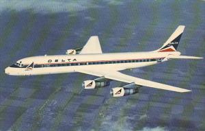 Delta Airlines DC-8 Fanjet