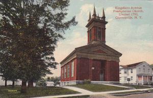 Exterior,  Presbyterian Church,  Kingsboro Avenue,  Gloversville,  New York, ...