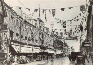 Postcard, 1933 Jubilee Celebrations North End Croydon, Surrey, London repro 59Z