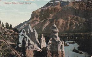 BANFF, Alberta, Canada, 1900-1910´s; Natural Pillars