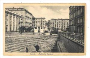 Catania - Anfiteatro Romano, ITALY, 1910s