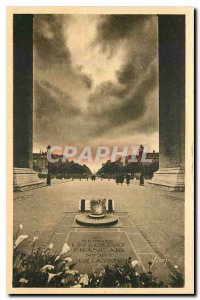 Old Postcard Paris Strolling Tomb of the Unknown Soldier