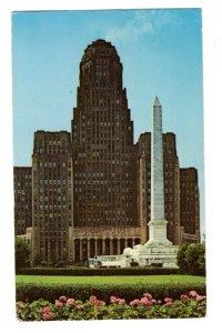 City Hall, Niagara Square, Buffalo, New York, Used 1960's