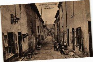 CPA Les ROCHES-de-CONDRIEU - La rue Buisson (165559)