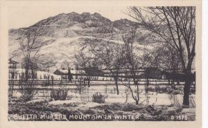 QUETTA, Pakistan, 1900-1910's; Mudar Mountain In Winter