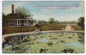 Chicago, Douglas Park, Flower Garden and Lily Pond