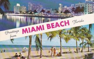 Greetings From Miami Beach Florida 1961