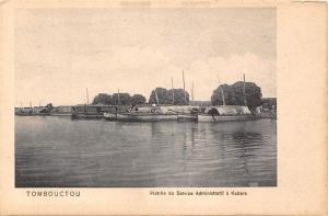 Mali Tombouctou, Flotille du Service Administratif a Kabara