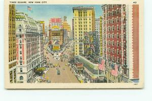 Old Vintage Postcards Times Square New York NY # 2398A