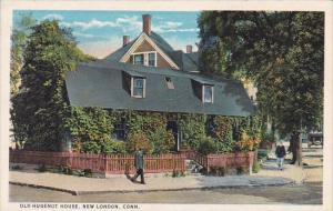Old Hugenot House New London Connecticut