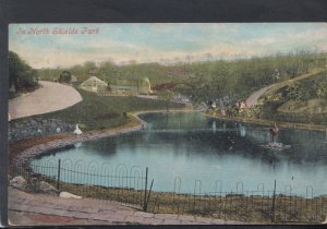 Northumberland Postcard - In North Shields Park  HM400